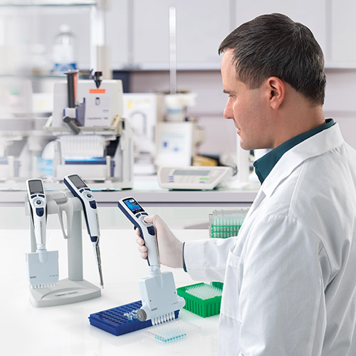 Rainin multi-channel electronic pipette